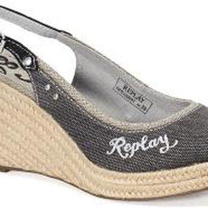 Sandály na platformě Replay