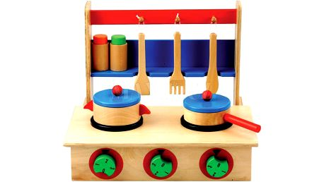 Dětský vařič s příslušenstvím 7dílů Bino 83721