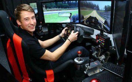Adrenalinová jízda v závodním automobilovém simulátoru!