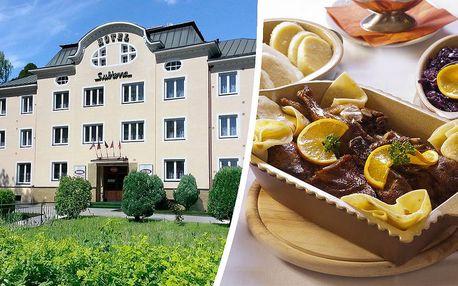 3 dny neomezeně ve wellnessu v blízkosti lázeňského města pro 2 osoby - v hotelu*** SUBTERRA - Ostrov nad Ohří