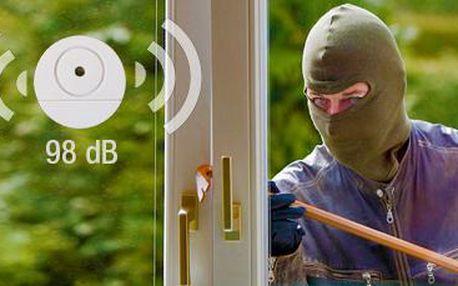 Bezpečnostní alarm na sklo – 10 kusů: udržujte svůj majetek v bezpečí.