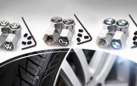 Čepičky ventilků z nerez oceli s ochranou proti krádeži pro Vaše auto! Velký výběr značek s poštovným ZDARMA!