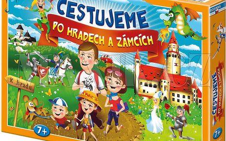 Cestujeme po hradech a zámcích společenská hra