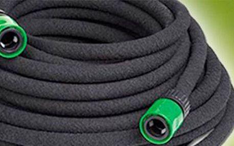 Zavlažovací odkapávací zahradní hadice: ušetříte až 70 % vody.