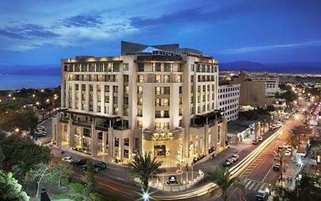 Hotel DOUBLE TREE HILTON, Jordánsko, letecky, snídaně