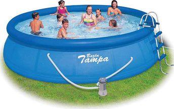 MARIMEX Tampa 4,57 x 1,22 m KOMPLET bazén s kartušovou filtrací + krycí plachta