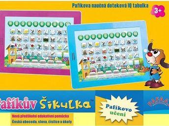 Dětský tablet Pafíkův šikulka!