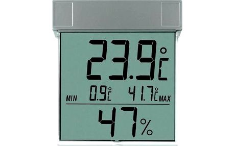 Digitální okenní teploměr s venkovní teplotou TFA Vision 672413