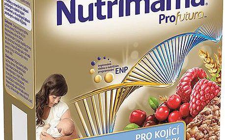 2x Nutrilon NUTRIMAMA Profutura cereální tyčinky Brusinky a Maliny (5 x 40g)