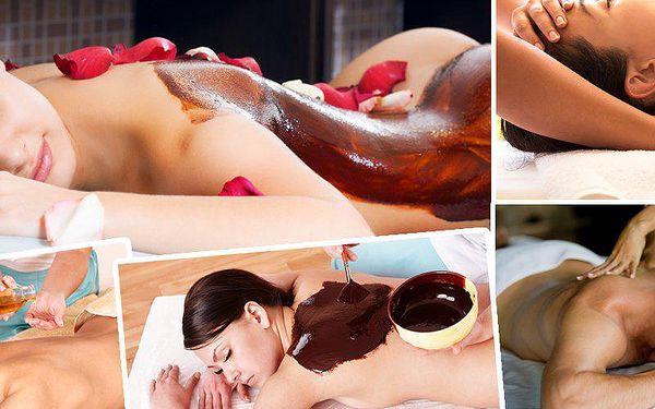 Luxusní masáž šíje a zad čokoládovým olejem + peeling v délce 40 minut. V salonu Miruš v Plzni!!