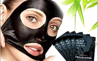Korejská černá maska 10ks