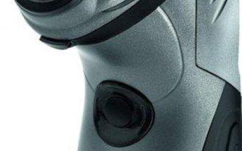 Holící stojek AEG HR 5655 v antracitové barvě s podsvíceným displejem a vodotěsným pouzdrem