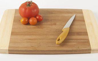 Bambusové krájecí prkénko Chopping Board, 38x27 cm
