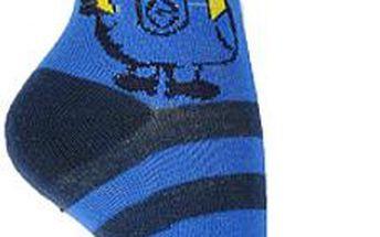 Dětské pruhované ponožky Mimoni