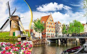 Víkend v kapse! Amsterdam, rybářská vesnička Volendam a větrné mlýny
