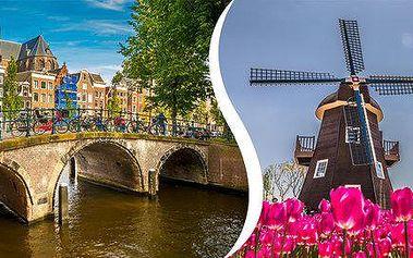 Amsterdam, rybářská vesnička a větrné mlýny