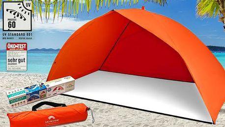 Skládací plážový přístřešek, poštovné zdarma