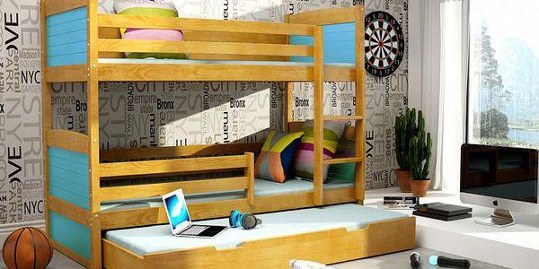 Patrová postel Elisia 4
