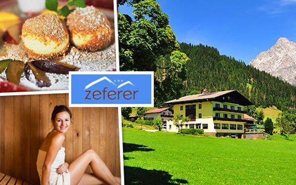 Rakouské Alpy v českém hotelu na 3 dny s polopenzí