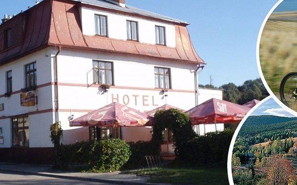 Pobyt pro 2 na 3 dny s polopenzí v malebném Hotelu Eduard. Příjemné ubytování, turistická oblast.