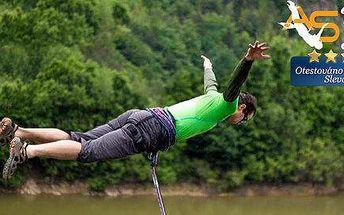 Adrenalinový Rope jump z 25 metrů!