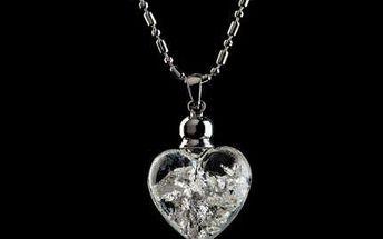 Dámský náhrdelník Yves Camani s 999.9karátovým stříbrem.