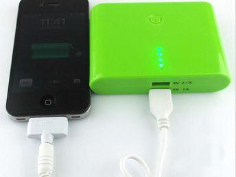 Dual USB PowerBank baterie 8000 mAh - energie vždy po ruce!