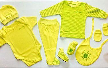 Sada oblečků pro miminka ve 4 barvách!