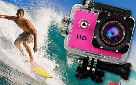 Outdoorová vodotěsná kamera 720P HD s Anti-shockem
