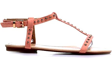 Růžové sandálky Velikost: 40