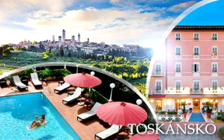 TOSKÁNSKO! 6denní pobyt pro DVA ve 4* hotelu včetně POLOPENZE, BAZÉNU a půjčení KOL! Platnost 1 rok!