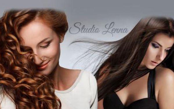 Kompletní péče o vlasy s vlas. kosmetikou Alcina! Mytí, STŘIH, foukaná a barvení či melír pro všechny délky vlasů!
