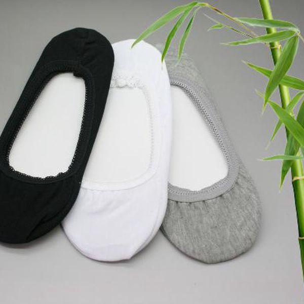 2 páry - Ponožky do balerín z bambusového vlákna Gloria!