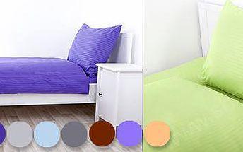 Luxusní 3dílné povlečení z mikrovlákna: v devíti barevných kombinacích!