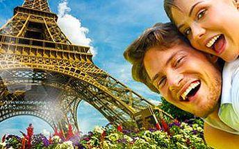 Paříž: 3denní zájezd pro 1 osobu s dárkem v podobě Eiffelovy věže!
