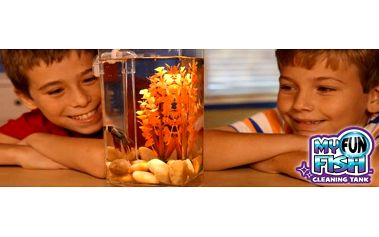 Samočistící akvárium My Fun Fish: skvělý dárek pro malé akvaristy!