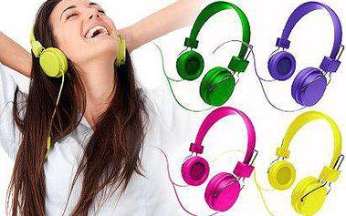 DESIGNOVÁ sluchátka iHip DJ Style Movable