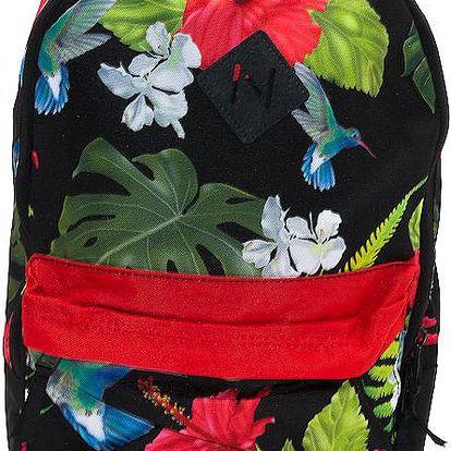 Batoh Neff Scholar Floral vícebarevné / černá