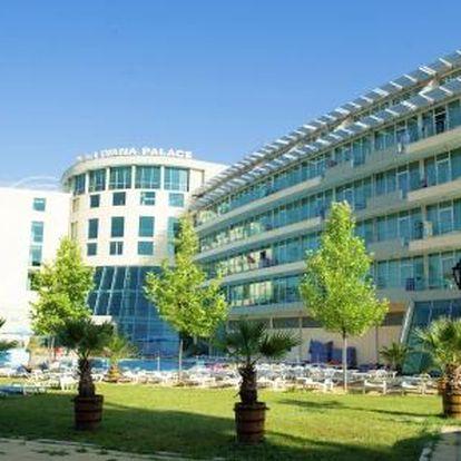Ivana Palace, Burgas, Bulharsko, letecky, snídaně