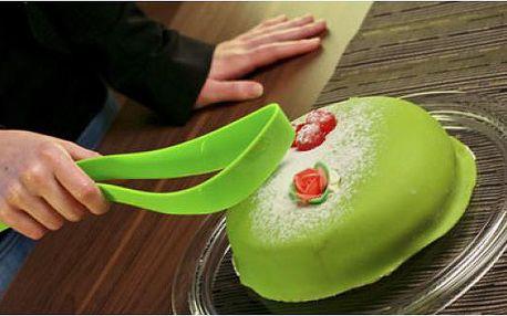 Designový nůž na dort - nepostradatelný kousek do kuchyně!