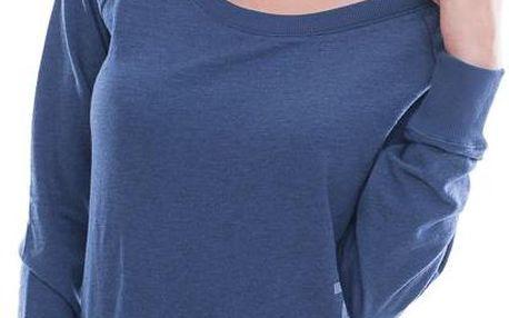 Dámská Mikina Reebok Classic EL Logo Crewneck Blue modrá