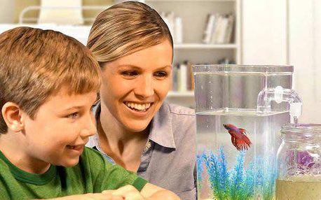 Akvárium pro děti My fun fish + doplňky