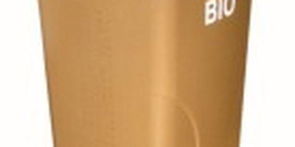 Nádoba na BIO odpad 120l plastová, hnědá s roštem