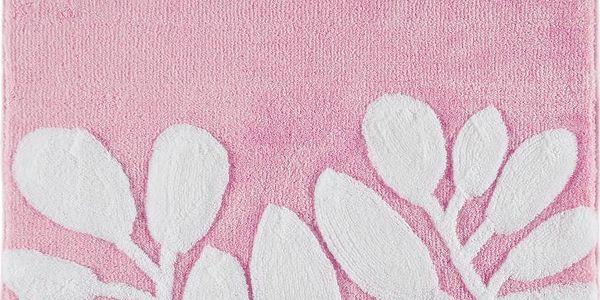 Koupelnová předložka Limra Pink, 70x120 cm