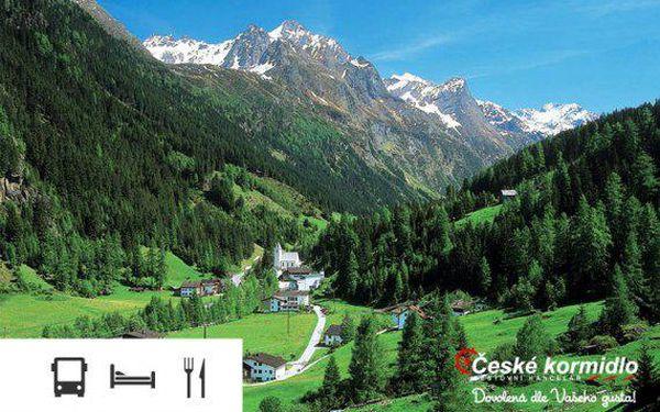 Zájezd do švýcarských a francouzských Alp s ubytováním