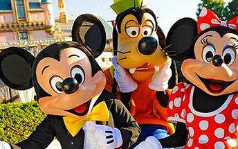 Paříž: 4denní zájezd pro 1 osobu s ubytováním a s návštěvou Disneylandu.