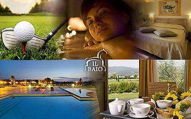 ITÁLIE: 6 dní v hotelu IL BAIO RELAIS & NATURAL SPA****