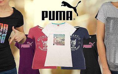 Dámské tričko Puma s krátkým rukávem