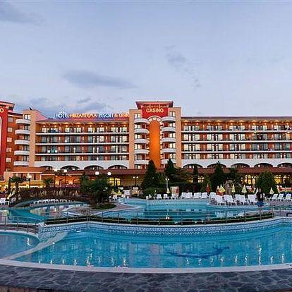 Hotel HRIZANTEMA, Burgas (oblast), Bulharsko, letecky, all inclusive