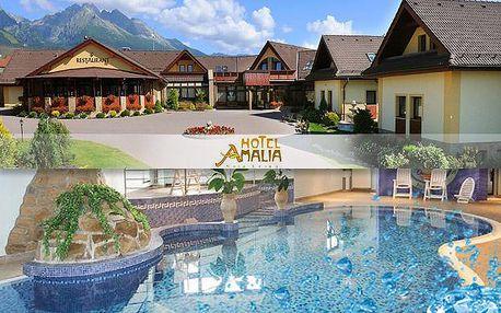 Luxusní rodinná dovolená s wellness během léta v tatranském hotelu Amalia***+